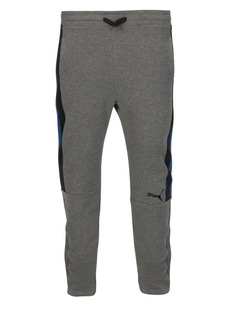 PUMA Boy's Colorblock Fleece Sweatpants