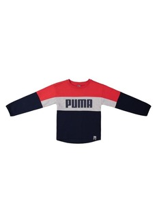 PUMA Boy's Colorblock Graphic Pullover