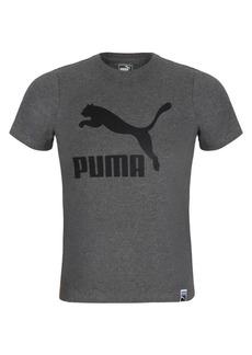 PUMA Boy's Short Sleeve Logo Tee