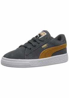 PUMA Boys  Suede Classic INF Sneaker Iron gate-Buckthorn Brown Team Gold 38bba3596