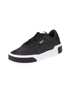 Puma Cali Low-Top Pebbled Leather Sneakers