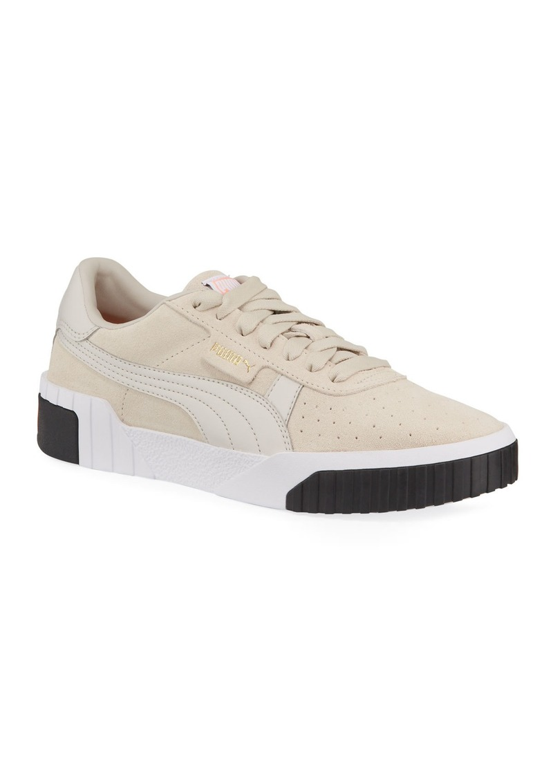 Puma Cali Low-Top Suede Sneakers