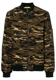 Puma camouflage print bomber - Brown