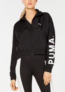 Puma Chase Woven Cropped Jacket
