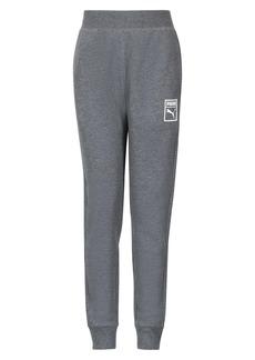 PUMA Classic Cotton Fleece Jogger Pants (Big Boys)