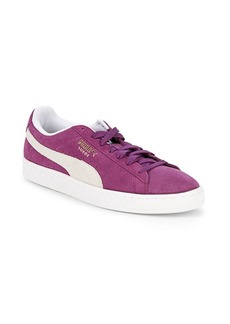 PUMA Classic Leather Lace-Up Sneakers