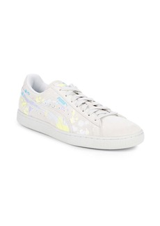 PUMA Classic Printed Leather Sneakers