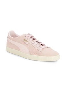 PUMA Classic Textured Leather Sneakers
