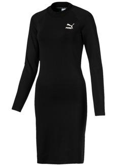 Puma Classics Cutout-Back Bodycon Dress
