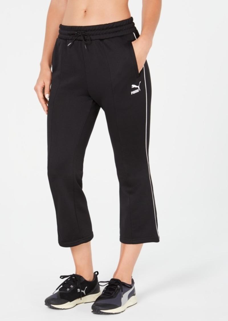 Puma Classics Kick Flared Cropped Pants