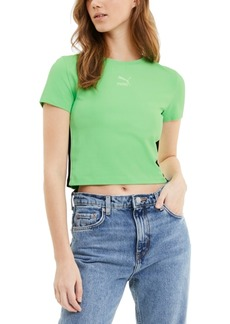 Puma Women's Classics T7 Cropped T-Shirt