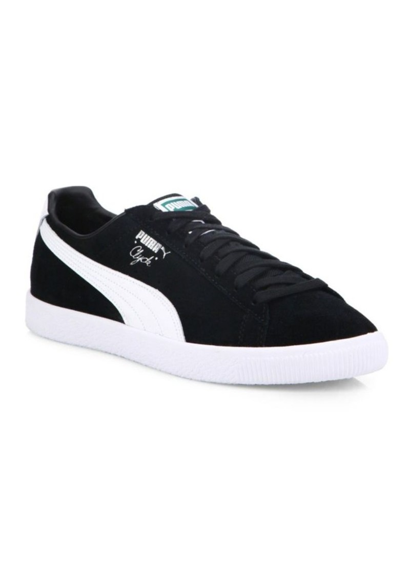 PUMA Clyde B&C Suede Sneakers