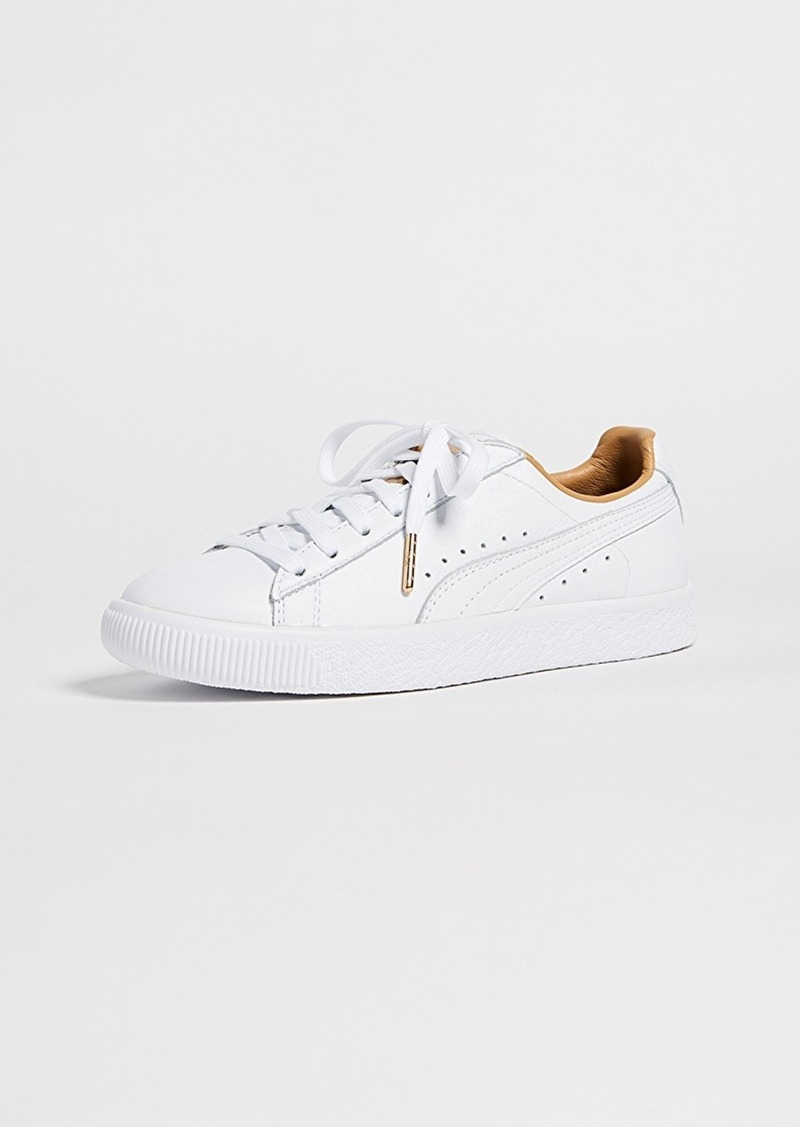 best sneakers 22d9a e08d6 Clyde Core Leather Sneakers