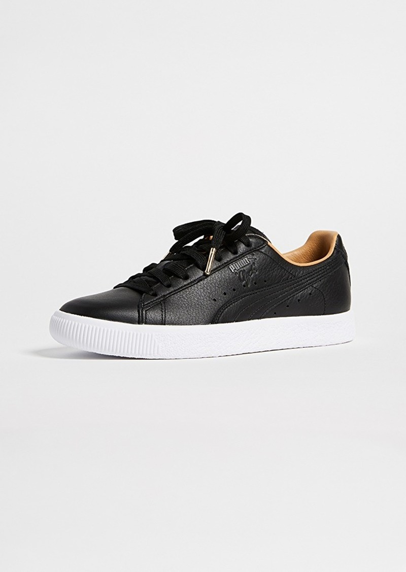 best sneakers 20480 ecb10 Clyde Core Leather Sneakers