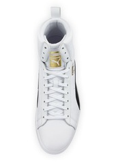 8370d20c95d ... Puma Men s Clyde Mid Core High-Top Leather Sneakers