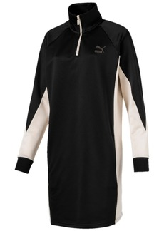 Puma Colorblocked Sweatshirt Dress