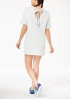 Puma Cotton Bow T-Shirt Dress