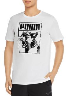 PUMA Cotton Box Logo Graphic Tee