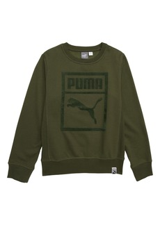 PUMA Cotton Fleece Heritage Pullover (Big Boys)