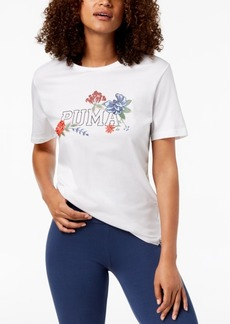 Puma Cotton Floral T-Shirt