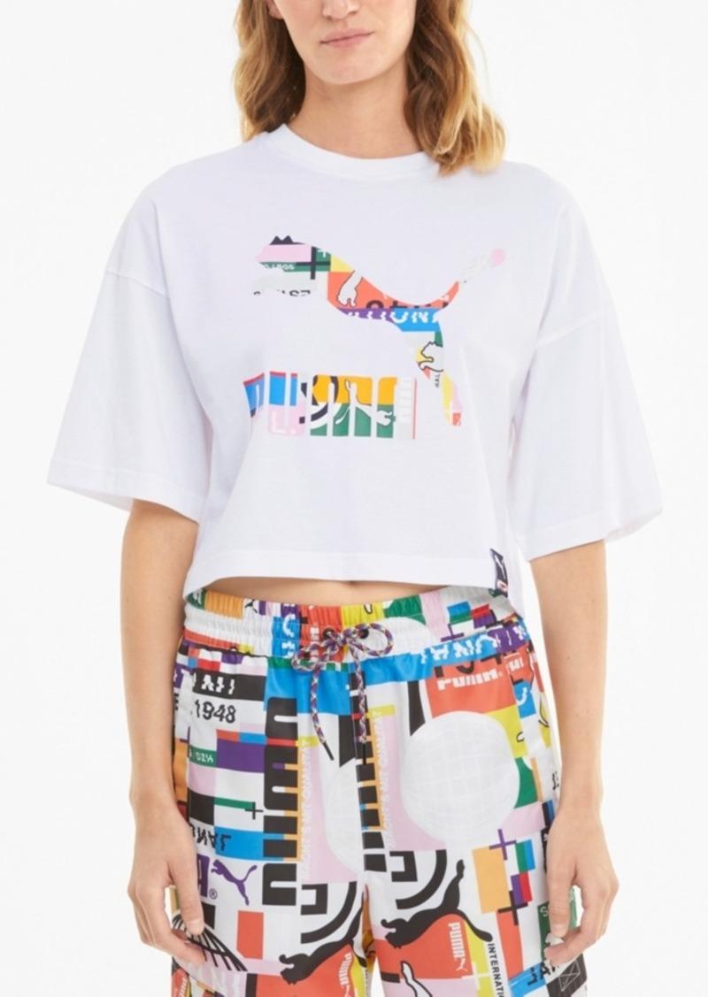 Puma Cotton Logo Graphic T-Shirt