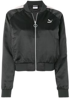 Puma cropped bomber jacket - Black