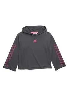 PUMA Cropped Pullover Hoodie (Big Girls)