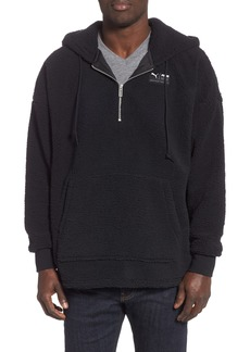 PUMA Downtown Fleece Half Zip Hoodie