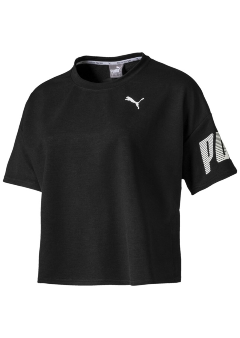 Puma dryCELL Cropped Logo T-Shirt