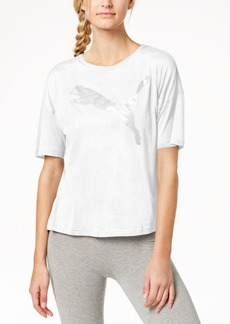 Puma dryCELL Printed-Logo T-Shirt