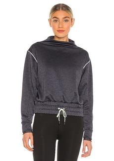 Puma Elevated Layering Mock Sweatshirt