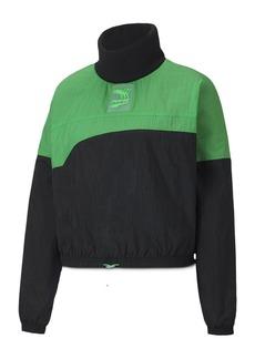 PUMA Evide Premium Crew Turtleneck Sweatshirt