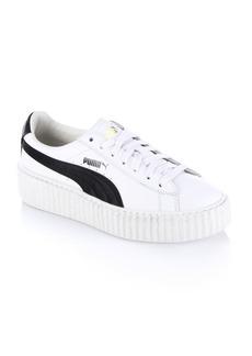 PUMA FENTY Puma x Rihanna Leather Creeper Platform Sneakers