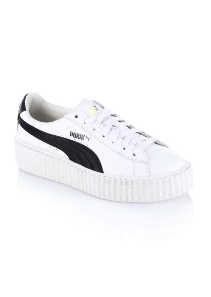 online store db7de ce4b5 Puma FENTY Puma x Rihanna Leather Creeper Platform Sneakers Now $99.99