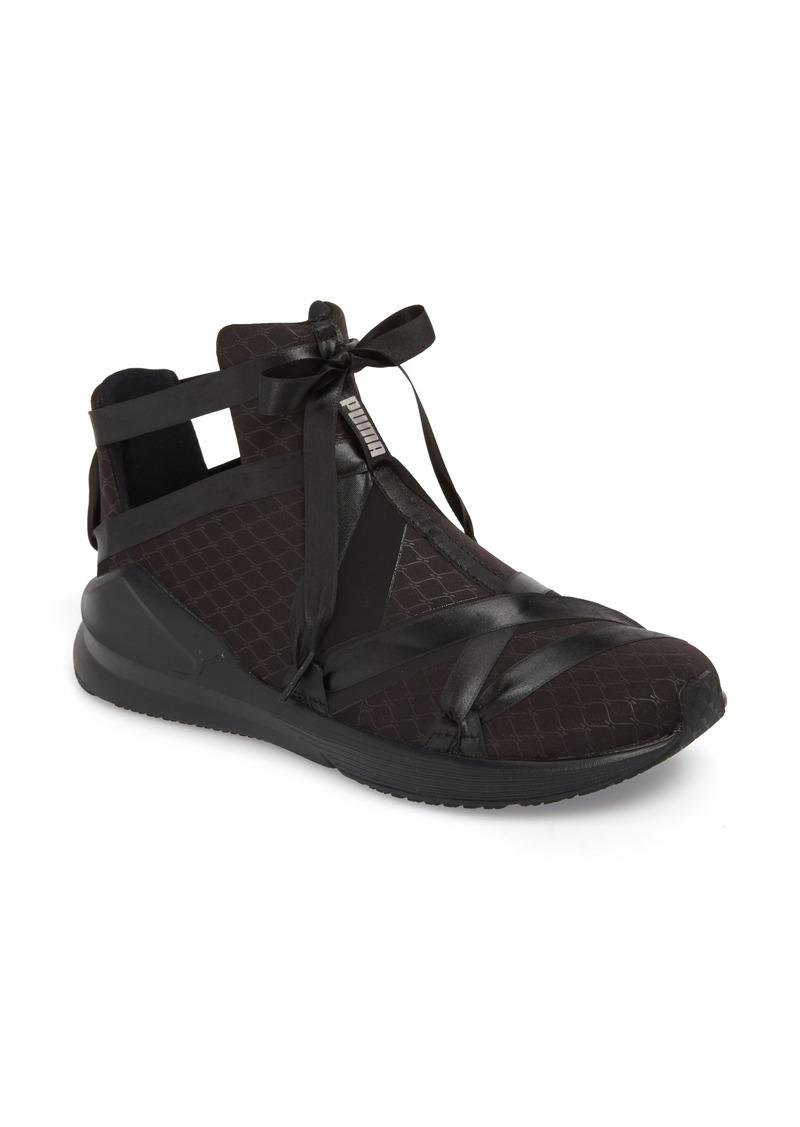 43550d9162 Fierce Rope Satin En Pointe High Top Sneaker (Women)