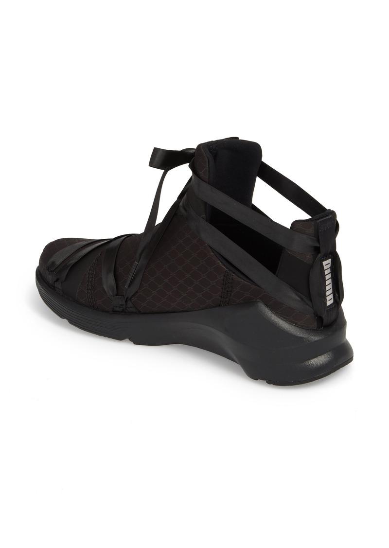 Puma PUMA Fierce Rope Satin En Pointe High Top Sneaker (Women) | Shoes