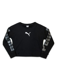 PUMA French Terry Sweatshirt (Big Girls)
