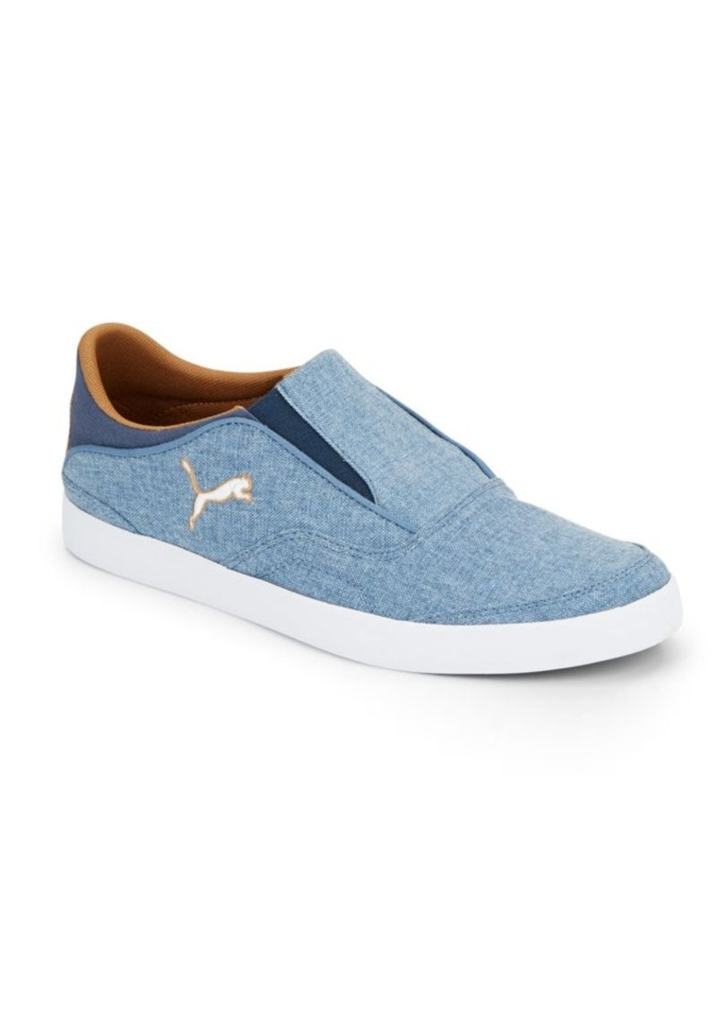PUMA Funist Canvas Slip-On Sneakers