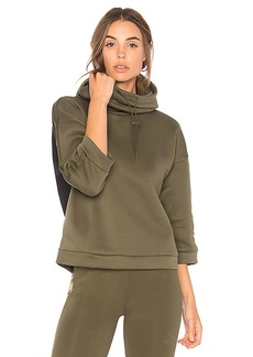Puma Funnel Neck Hoodie in Olive. - size L (also in M,S,XS)