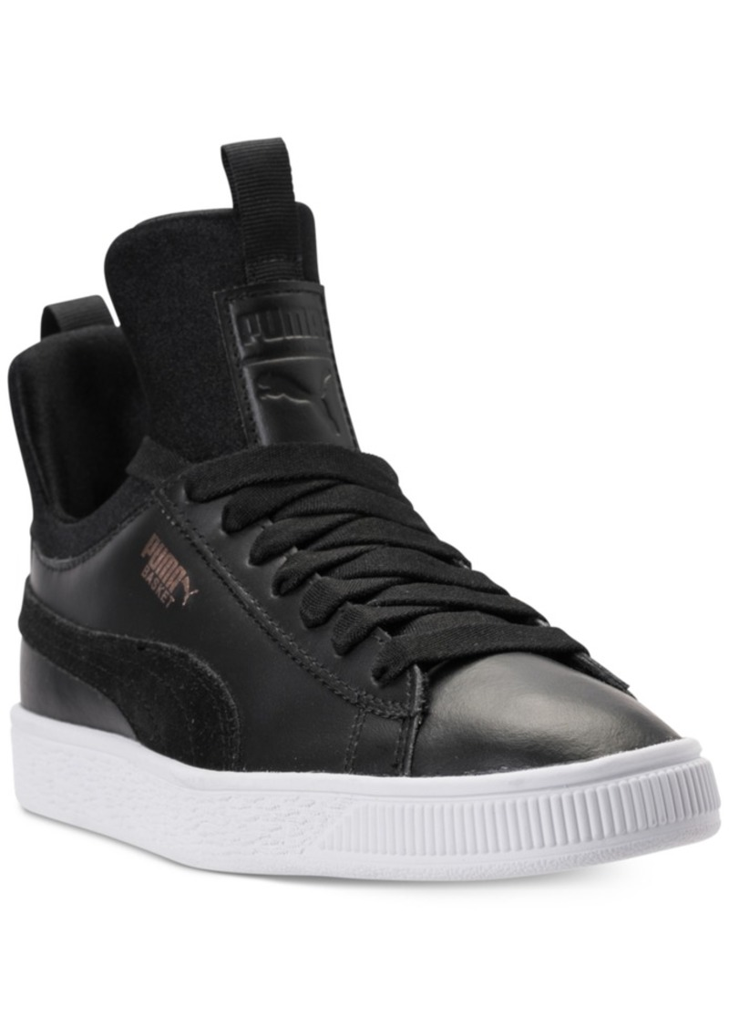 premium selection 7eb49 70c82 Big Girls' Basket Fierce High Top Casual Sneakers from Finish Line