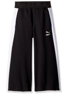 PUMA Girls' Big EVO Pants Black
