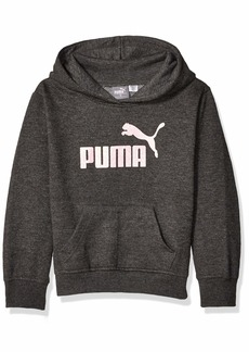 PUMA Girls' Big Fleece No. 1 Logo Hoodie  M