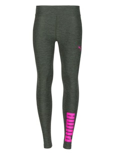 PUMA Girl's Heathered Leggings