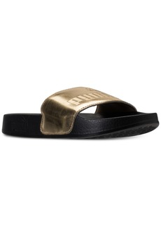 Puma Big Girls' Leadcat Mirror Slide Sandals from Finish Line