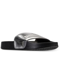 Puma Girls' Leadcat Mirror Slide Sandals from Finish Line