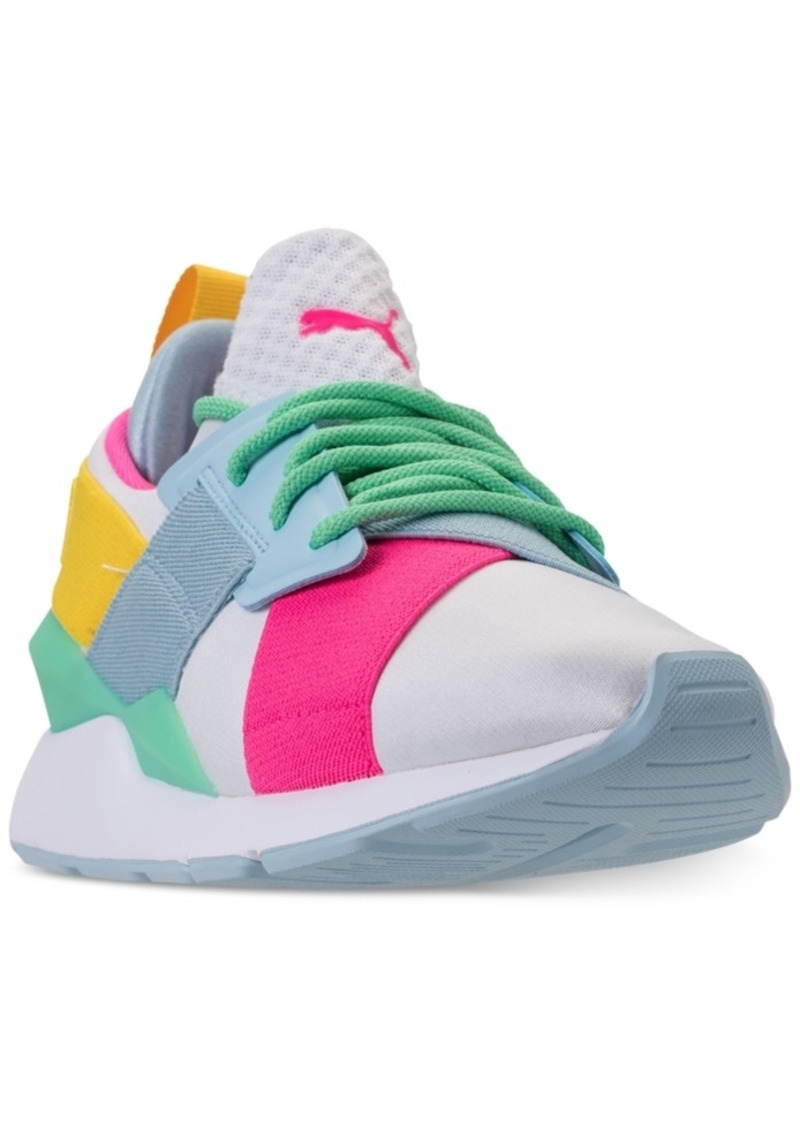 bbf2a9d966e Puma Puma Girls  Muse Jr. Casual Sneakers from Finish Line