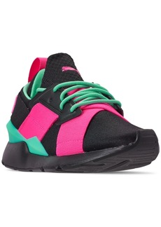 Puma Girls' Muse Jr. Casual Sneakers from Finish Line