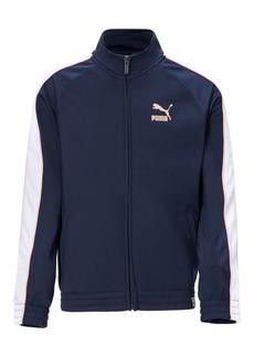 PUMA Girl's Raglan-Sleeve Track Jacket
