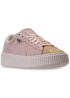 4252851bdf6 Puma Puma Big Girls  Suede Platform Glam Casual Sneakers from Finish Line