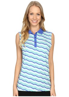 PUMA Golf Wave Sleeveless Polo